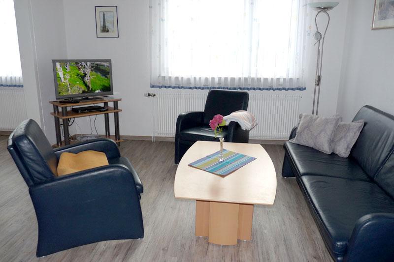 Das k ptn 39 s hus ferienhaus auf borkum for Wohnzimmer 19 qm