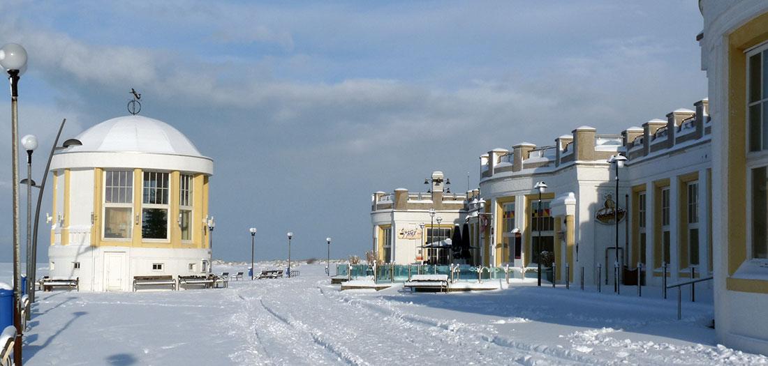 Impressionen Borkum -Borkum im Winter