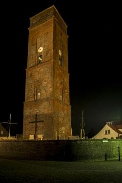 Der alte Leuchtturm auf Borkum