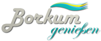 Logo Borkum genießen